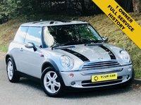 2006 MINI HATCH ONE 1.6 ONE 3d AUTO 89 BHP £3500.00