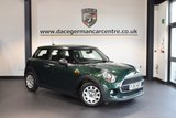 USED 2015 65 MINI HATCH ONE 1.2 ONE 3DR 101 BHP WITH A SERVICE PLAN + FULL SERVICE HISTORY +  1 OWNER FROM NEW + BLUETOOTH + SPORT SEATS + DAB RADIO + AUX/USB PORT +