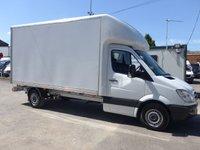 2013 MERCEDES-BENZ SPRINTER 313 CDI LWB LUTON BOX VAN, 130 BHP [EURO 5], 1 COMPANY OWNER £8495.00