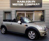USED 2010 10 MINI CONVERTIBLE 1.6 COOPER 2d 120 BHP 58000 MILES 6 SERVICE STAMPS IN THE BOOK