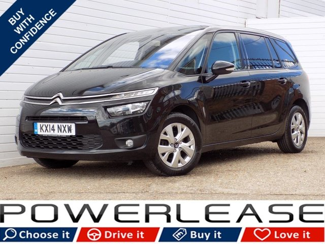 USED 2014 14 CITROEN C4 GRAND PICASSO 1.6 E-HDI AIRDREAM VTR PLUS 5d 113 BHP 20 POUND TAX 7 SEATS  1 OWNER