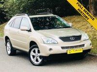 2006 LEXUS RX 3.3 400H SE-L CVT 5d AUTO 208 BHP £6500.00