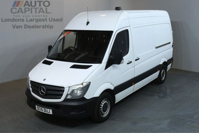 2015 15 MERCEDES-BENZ SPRINTER 2.1 313 CDI MWB 129 BHP H/ROOF RWD VAN ONE OWNER FULL S/H SPARE KEY