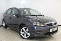 USED 2010 59 FORD FOCUS 1.6 ZETEC TDCI 5DR 109 BHP SERVICE HISTORY + AIR CONDITIONING + RADIO/CD + ELECTRIC WINDOWS + ELECTRIC MIRRORS + 16 INCH ALLOY WHEELS