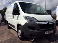 USED 2015 15 CITROEN RELAY SWB 2.2 33 L1H1 ENTERPRISE HDI 109 BHP 1 OWNER FSH NEW MOT  FREE 6 MONTH AA WARRANTY INCLUDING RECOVERY AND ASSIST NEW MOT AIR CONDITIONING BLUETOOTH ELECTRIC WINDOWS AND MIRRORS REAR PARKING SENSORS SPARE KEY