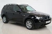 2008 BMW X3 2.0 D SE 5d 148 BHP £5495.00