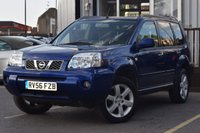 USED 2006 56 NISSAN X-TRAIL 2.5 COLUMBIA 5d AUTO 163 BHP SUPERB EXAMPLE WITH FULL SERVICE HISTORY INC 9 STAMPS, 2 KEYS