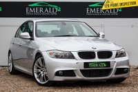USED 2010 60 BMW 3 SERIES 2.0 320D M SPORT BUSINESS EDITION 4d 181 BHP £0 DEPOSIT FINANCE AVAILABLE, AIR CONDITIONING, AUX/CD/RADIO, BLUETOOTH CONNECTIVITY, CLIMATE CONTROL, CRUISE CONTROL, FULL LEATHER UPHOLSTERY, HEATED SEATS, REAR PARKING SENSORS, SATELLITE NAVIGATION, STEERING WHEEL CONTROLS, TRIP COMPUTER