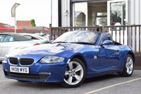 USED 2008 08 BMW Z4 2.5 Z4 SE ROADSTER 2d AUTO 175 BHP STUNNING EXAMPLE WITH ONE OWNER FROM NEW, 2 KEYS