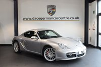 USED 2008 08 PORSCHE CAYMAN 3.4 24V S 2DR 295 BHP + FULL BLACK LEATHER INTERIOR + FULL SERVICE HISTORY + OVER £7,000 OF EXTRAS + XENON LIGHTS + HEATED SPORT SEATS + BOSE SPEAKER SYSTEM + SPORT CHRONO PACKAGE + AUTO CLIMATE CONTROL + PARK ASSIST + 19 INCH ALLOY WHEELS +