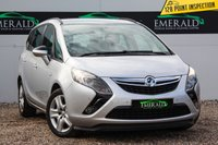USED 2013 63 VAUXHALL ZAFIRA TOURER 1.8 EXCLUSIV 5d 138 BHP £0 DEPOSIT FINANCE AVAILABLE, AIR CONDITIONING, CLIMATE CONTROL, CRUISE CONTROL, DAB RADIO, DAYTIME RUNNING LIGHTS, PARKING SENSORS, STEERING WHEEL CONTROLS, TRIP COMPUTER