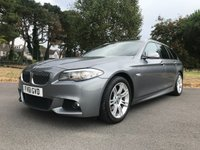USED 2011 61 BMW 5 SERIES 2.0 520D M SPORT TOURING 5d AUTO 181 BHP GREAT SPEC M SPORT AUTO ESTATE FSH