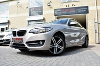 USED 2016 16 BMW 2 SERIES 218I SPORT