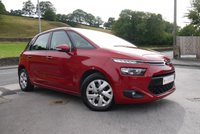 USED 2013 63 CITROEN C4 PICASSO 1.6 HDI VTR PLUS 5d 91 BHP CHERRY RED PEARL METALLIC