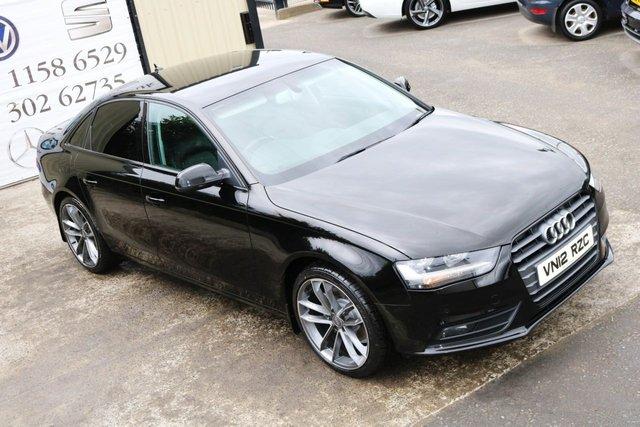 2012 12 AUDI A4 2.0 TDI TECHNIK Black edition spec 141 BHP (Finance & Warranty)