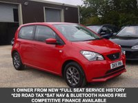 USED 2015 15 SEAT MII 1.0 I-TECH 5 Door Hatchback In Red With Titanium Grey Alloys