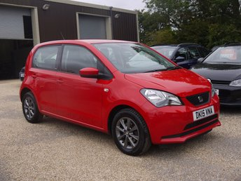 2015 SEAT MII 1.0 I-TECH 5 Door Hatchback In Red With Titanium Grey Alloys £4995.00