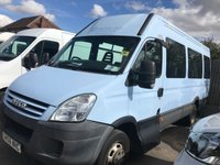 2006 IVECO-FORD DAILY 2.3 35C12 3750 LWB 116 BHP 17SEAT JUST 29,000 MILES !!!!!!! £4450.00