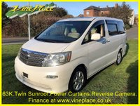 2002 TOYOTA ALPHARD 3.0MZ 8 Seats.Twin Sunroof, Power Curtains £7000.00