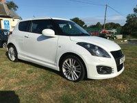 2012 SUZUKI SWIFT 1.6 SPORT pearl white 33000 miles fsh stunning car  £6495.00
