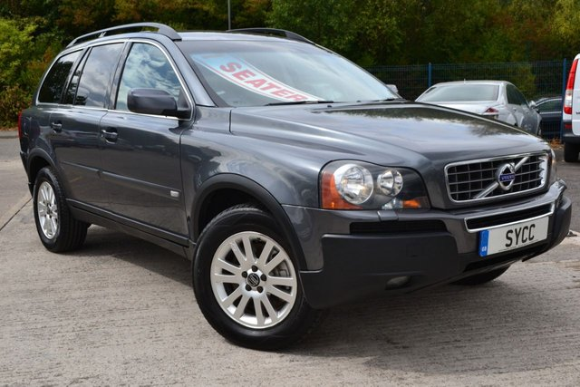 USED 2006 VOLVO XC90 2.4 D5 SE AWD 5d 183 BHP 16 SERVICE STAMPS + BILLS ~ 7 SEATS ~ HEATED LEATHER