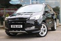2016 FORD KUGA 2.0 TITANIUM X SPORT TDCI 5d AUTO 177 BHP £18995.00
