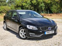 USED 2015 15 VOLVO V60 2.0 D3 BUSINESS EDITION 5d 148 BHP
