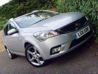 2011 KIA CEED 1.6 CRDI 3 SW 5d 114 BHP £4499.00