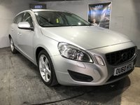 USED 2010 60 VOLVO V60 2.0 D3 SE 5d AUTO 161 BHP Bluetooth  :  Full leather upholstery   :   Heated front seats  :  Electric/Memory driver's seat   :  Rear parking sensors     :     Comprehensive Volvo main dealer service history