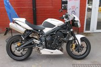 USED 2012 TRIUMPH STREET TRIPLE 675 R *6mth Warranty, Finance Available* FSH, Lovely Condition, Free Delivery