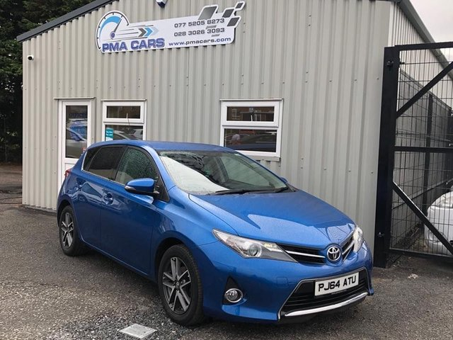 2014 64 TOYOTA AURIS 1.4 D-4D ICON PLUS 89 BHP 5DR HATCHBACK