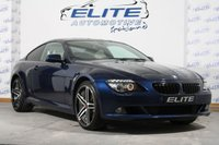"""USED 2010 59 BMW 6 SERIES 3.0 635D SPORT 2d AUTO 282 BHP 350BHP/677NM OF TORQUEVIA BLUEFIN MAP /HUGE SPEC/ FULL HISTORY/ NEW 20"""" ALLOYS/ PRIVACY GLASS/ PRO NAVIGATION! WHAT A CAR/ VERY RARE TWIN TURBO!!"""