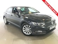 USED 2015 15 VOLKSWAGEN PASSAT 1.6 SE BUSINESS TDI BLUEMOTION TECHNOLOGY NAV 4d 119 BHP 1 Owner/Sat Nav/Bluetooth/DAB
