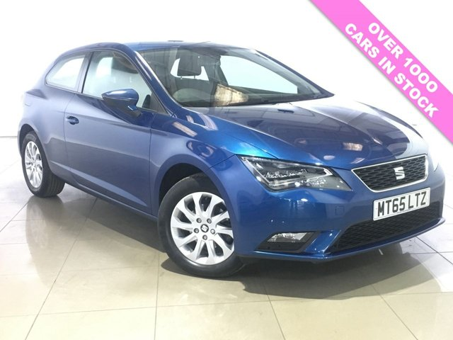 View our 2015 65 SEAT LEON 1.2 TSI SE TECHNOLOGY 3d 110 BHP