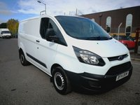 USED 2014 14 FORD TRANSIT CUSTOM 2.2 270 LR P/V 1d 99 BHP 1 OWNER - DIRECT LEASE COMPANY - FULL SERVICE HISTORY