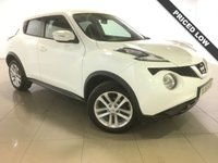 USED 2015 15 NISSAN JUKE 1.2 ACENTA DIG-T 5d 115 BHP 1 Owner/Bluetooth/Air Con