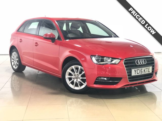 View our 2015 15 AUDI A3 1.6 TDI SE 5d 109 BHP