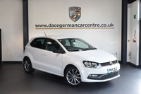 USED 2015 15 VOLKSWAGEN POLO 1.0 SE DESIGN 5DR 60 BHP + FULL SERVICE HISTORY + BLUETOOTH + DAB RADIO + SPORT SEATS + HEATED MIRRORS + AUXILIARY PORT + 16 INCH ALLOY WHEELS +
