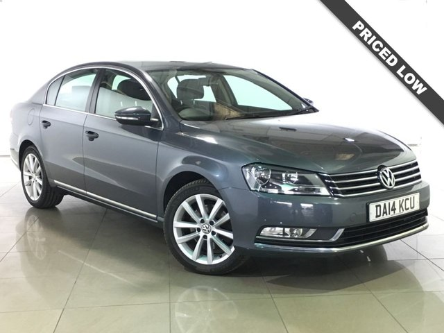 View our 2014 14 VOLKSWAGEN PASSAT 1.6 EXECUTIVE TDI BLUEMOTION TECHNOLOGY 4d 104 BHP