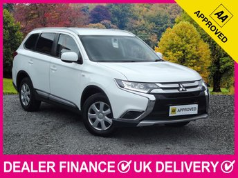 2016 MITSUBISHI OUTLANDER 2.2 DI-D GX1 4WORK COMMERCIAL VAN 4WD AIR CON  £12450.00