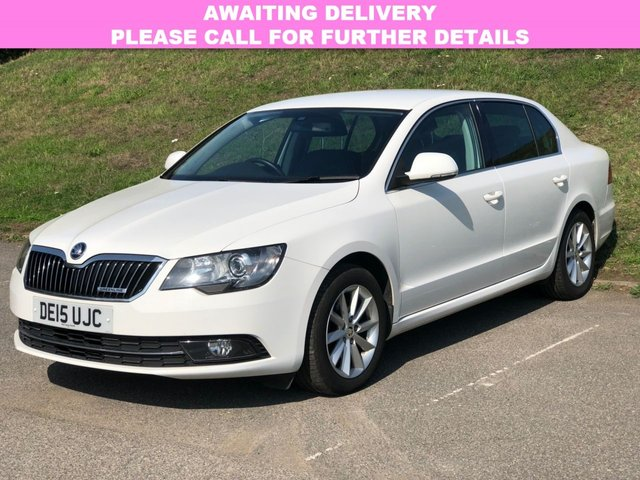 View our 2015 15 SKODA SUPERB 1.6 SE BUSINESS GREENLINE III NAV TDI CR 5d 103 BHP