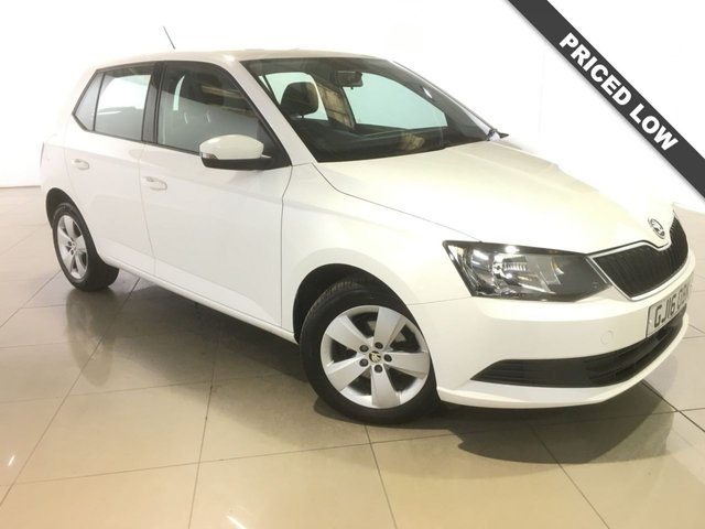 View our 2016 16 SKODA FABIA 1.4 SE TDI 5d 89 BHP
