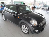USED 2010 60 MINI HATCH ONE 1.6 ONE 3d 98 BHP
