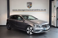 USED 2014 64 MERCEDES-BENZ A CLASS 1.5 A180 CDI BLUEEFFICIENCY SPORT 5DR 109 BHP +  HALF LEATHER INTERIOR + BLUETOOTH + SATELLITE NAVIGATION + XENON LIGHTS  + SPORT SEATS + NIGHT PACK + CRUISE CONTROL + ACTIVE PARK ASSIST + 18 INCH ALLOY WHEELS +