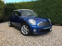 2012 MINI HATCH ONE 1.6 ONE 3d 98 BHP £6490.00