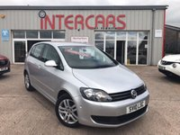 2010 VOLKSWAGEN GOLF PLUS 1.6 SE TDI 5d 103 BHP £5750.00