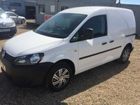 USED 2015 15 VOLKSWAGEN CADDY 1.6 C20 TDI STARTLINE 1d 101 BHP ONLY 60000 MILES ONE OWNER FROM NEW ELECTRIC PACK