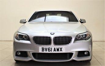 2011 BMW 5 SERIES 2.0 520D M SPORT 4d AUTO 181 BHP £10499.00