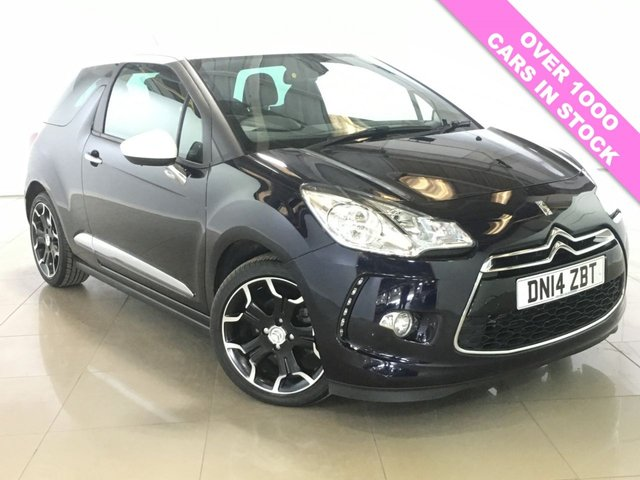 View our 2014 14 CITROEN DS3 1.6 DSTYLE PLUS 3d 120 BHP