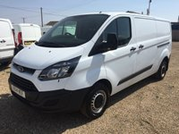 USED 2014 14 FORD TRANSIT CUSTOM 2.2 290 LR P/V 1d 99 BHP LWB ONE OWNER FROM NEW FULL SERVICE HISTORY